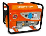 Бензиновая электростанция / БензоГенератор NIKKEY PG 1500