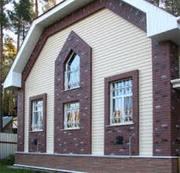 Сайдинг виниловый фасадный и цокольный для наружной отделки Docke,  Ю-п
