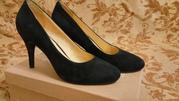 Туфли Shoe the bear,  новые,  натуральная замша