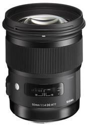 Продам новый объектив Sigma 50mm F1.4 DG HSM Art для Canon